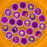 Free online flash games - Halloween Items Match Up game - WowEscape
