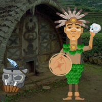 Free online flash games - Amazon Tribe Forest Escape game - WowEscape