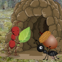Free online flash games - Ant Hill Forest Escape game - WowEscape