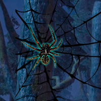 Free online flash games - Black Widow Spider Forest Escape game - WowEscape