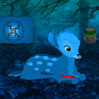 Free online flash games - Blue Diamond Forest Escape game - WowEscape