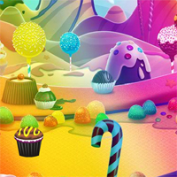 Free online flash games - Candy world boy  Escape