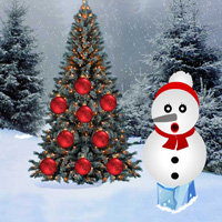 Free online flash games - Christmas Ball Forest Escape game - WowEscape