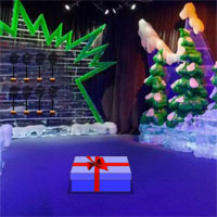 Free online flash games - Christmas Ice Theme Park Escape
