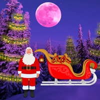 Free online flash games - Christmas Light Forest Escape game - WowEscape