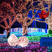 Free online flash games - Christmas Light Park Escape