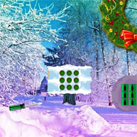 Free online flash games - Christmas Wreath Forest Escape game - WowEscape