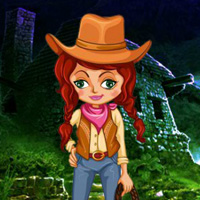 Free online flash games - Cowgirl Forest Rescue game - WowEscape