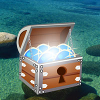 Free online flash games - Crystal Clear Lake Escape game - WowEscape