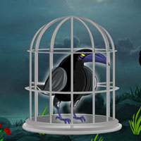 Dark Fantasy Crow Escape
