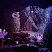 Free online flash games - Darkened Cave Escape game - WowEscape