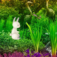 Free online flash games - Easter Bunny Garden Escape game - WowEscape