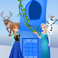 Free online flash games - Elsa and Anna Escape game - WowEscape