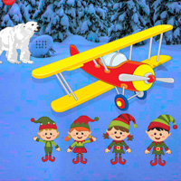 Free online flash games - Elves Christmas Escape game - WowEscape
