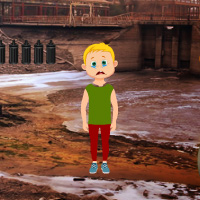 Free online flash games - Environmental Pollution Factory Escape