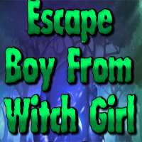 Free online flash games - Escape Boy  From Witch Girl  game - WowEscape