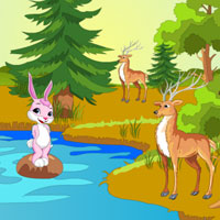Free online flash games - Escape Female Bunny game - WowEscape