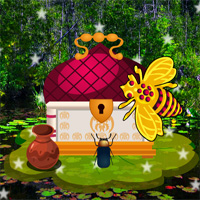 Free online flash games - Escape From Golden Bee Forest game - WowEscape