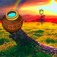 Free online flash games - Escape from Rainbow Valley game - WowEscape