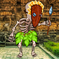 Free online flash games - Escape from Temple Island game - WowEscape