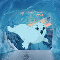 Free online flash games - Escape From White Seal Cave game - WowEscape