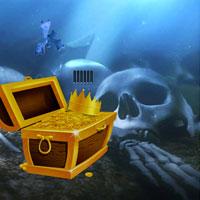 Free online flash games - Escape Game Find The Sunken Treasure game - WowEscape
