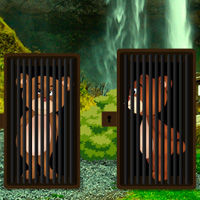 Free online flash games - Escape Game Save The Bear Couple game - WowEscape