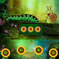 Free online flash games - Escape Game Save The Caterpillar game - WowEscape