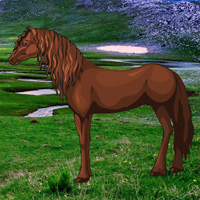 Free online flash games - Escape Game Save The Exmoor Pony game - WowEscape