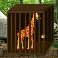 Free online flash games - Escape Game Save the Giraffe game - WowEscape