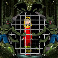 Free online flash games - Escape Game Save the Girl from Werewolf game - WowEscape