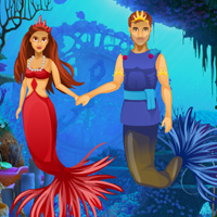 Free online flash games - Escape Game Save The Mermaid Couple game - WowEscape
