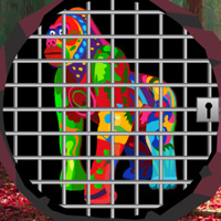 Free online flash games - Escape Game Save The Rainbow Gorilla game - WowEscape