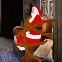 Free online flash games - Escape Game Save The Santa game - WowEscape
