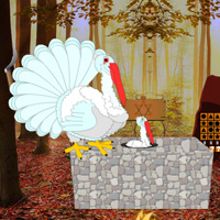 Free online flash games - Escape Game Save The White Turkey game - WowEscape