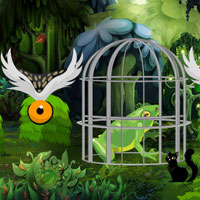 Free online flash games - Escape Giant Frog game - WowEscape