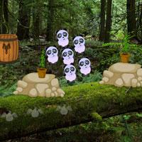 Free online flash games - Escape Panda Cub game - WowEscape