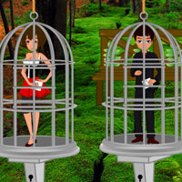 Free online flash games - Escape the Lovers from Backyard game - WowEscape