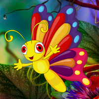 Free online flash games - Fantasy Butterfly Rescue game - WowEscape