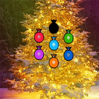 Free online flash games - Fantasy Christmas Tree Forest Escape