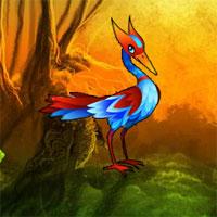 Free online flash games - Fantasy Egret Forest Escape game - WowEscape