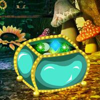 Free online flash games - Fantasy Emerald Treasure Escape game - WowEscape