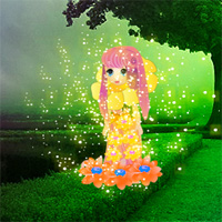Free online flash games - Fantasy Flower Girl Escape game - WowEscape