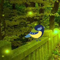 Free online html5 games - Fantasy Lighting Forest Escape game