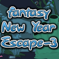 Free online flash games - Fantasy New Year Escape-3 game - WowEscape