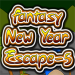 Free online flash games - Fantasy New Year Escape-5 game - WowEscape