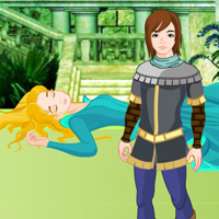 Free online flash games - Fantasy Sleeping Queen Escape game - WowEscape