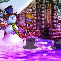 Free online flash games - Fantasy Snowman World Escape game - WowEscape