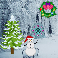 Free online flash games - Find the Christmas Card game - WowEscape