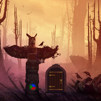 Free online flash games - Fog Forest Escape game - WowEscape